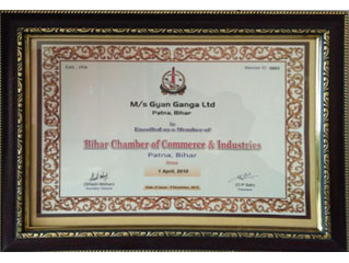 Bihar Chamber of Commerce Enrollment 2010